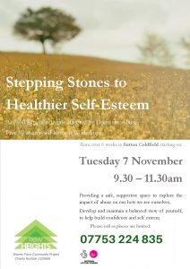 Click here to view the Stepping Stones to Self Esteem poster