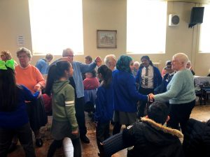 Children join tea dance at Young at Heart