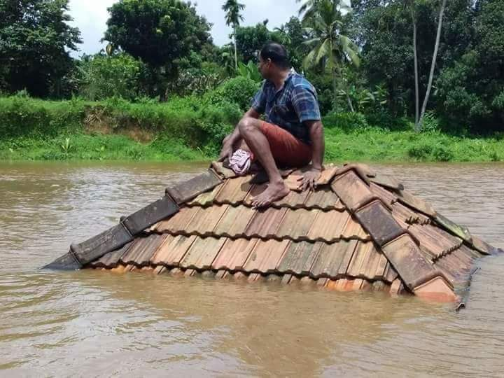 Kerala monsoon floods have washed away entire villages