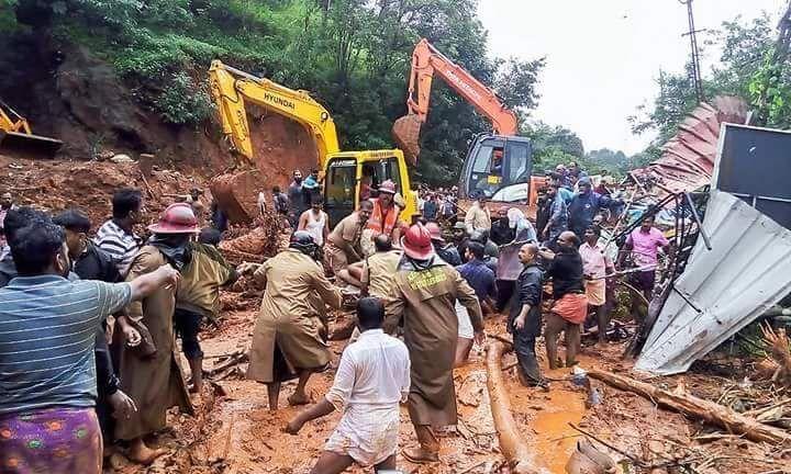 Kerala relief work is underway