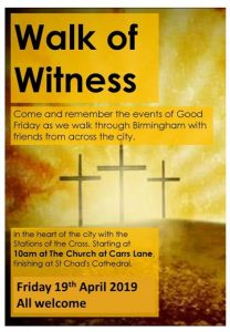 Birmingham Walk of Witness