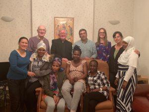 Archbishop bernard visits Fatima House