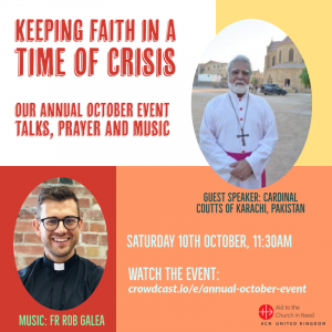 ACN talk: keeping faith in time of crisis